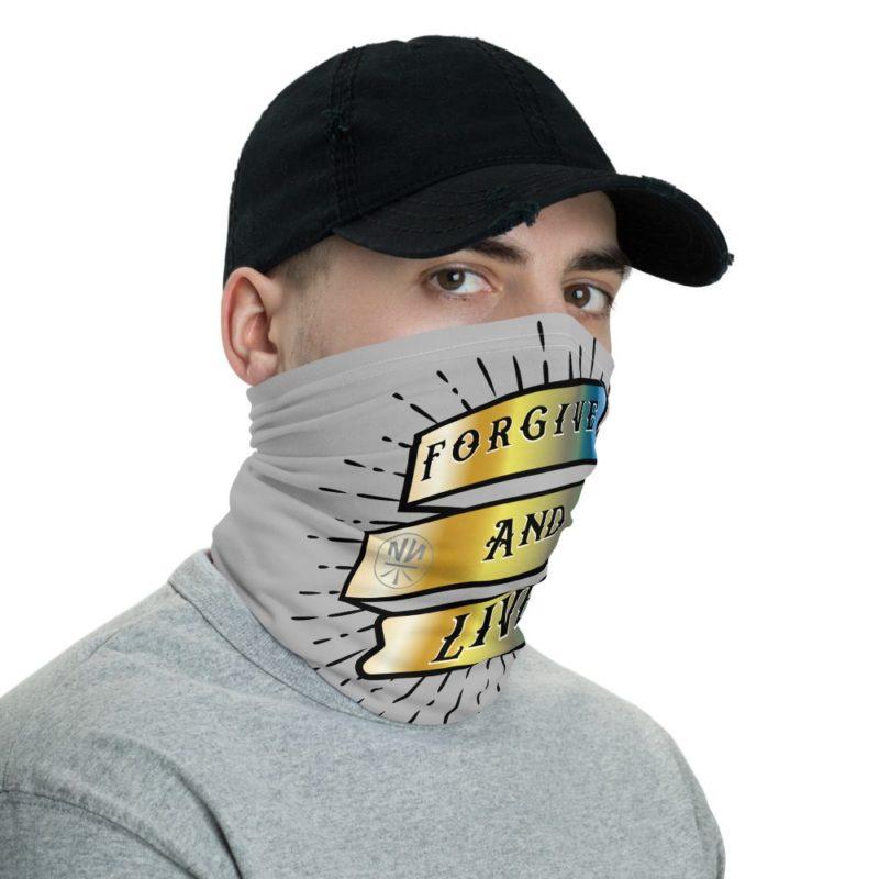Forgive And Live Reborn Chrome Neck Gaiter (Mask)