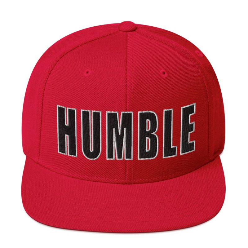 HUMBLE PUFF EMBROIDERY Snapback Hat