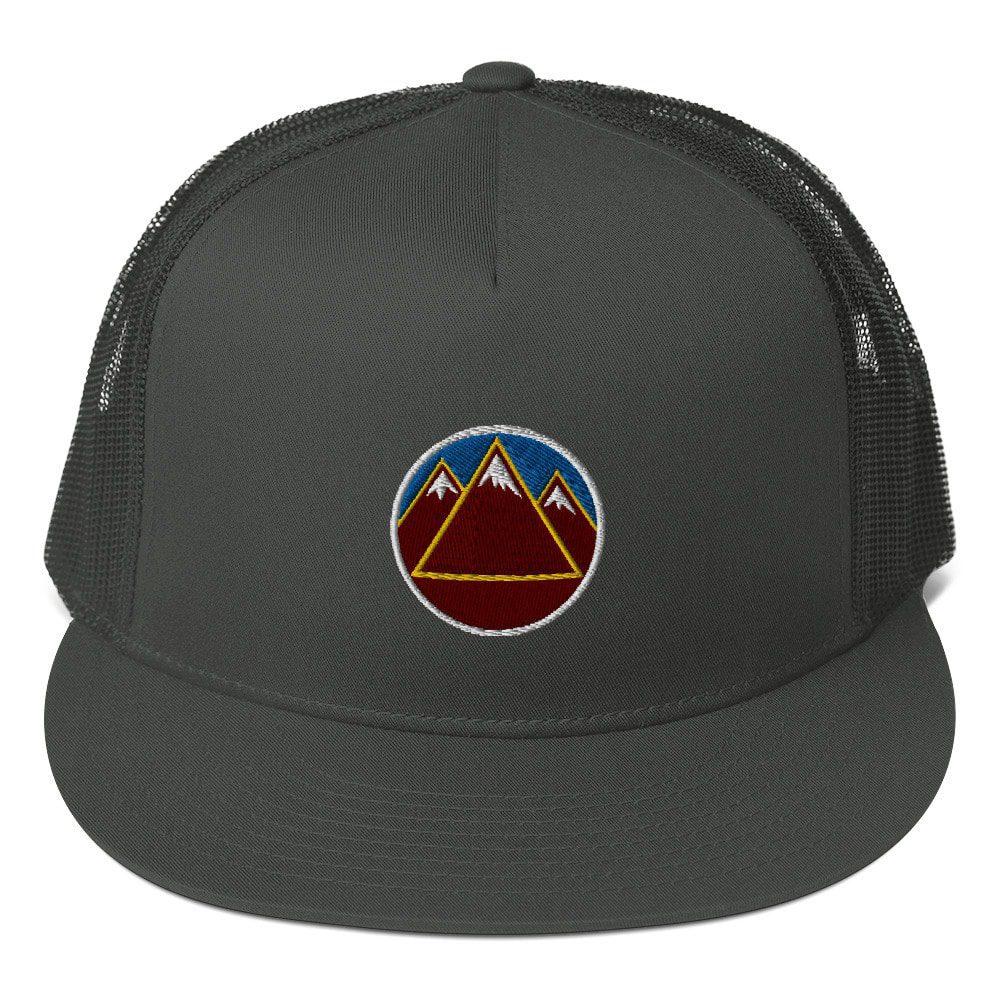 Skye Mountain Co Trucker Hat - Yellowstone Logo Hat One Size Snapback