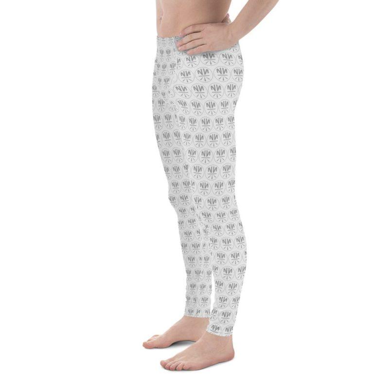New Now Circled Pattern Men's Leggings