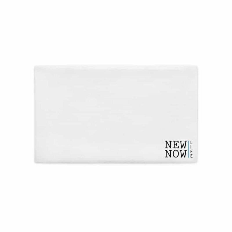 New Now GrATTITUDE  Premium Pillow Case