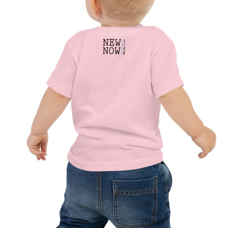 New Now Logo Circled Baby Jersey Short Sleeve Tee
