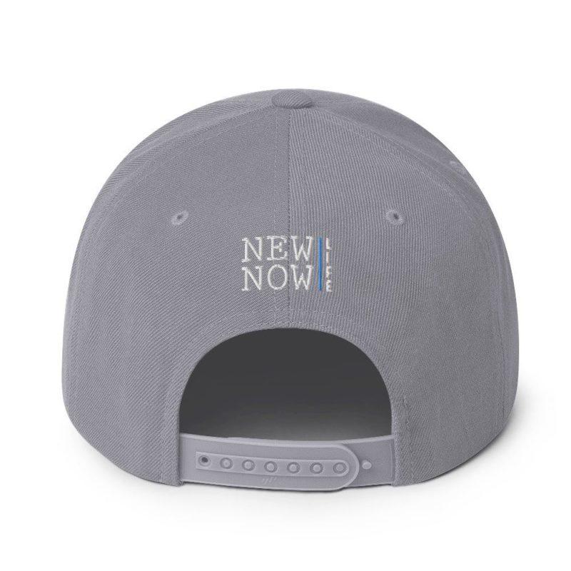 New Now Logo Circled Dark Snapback Hat