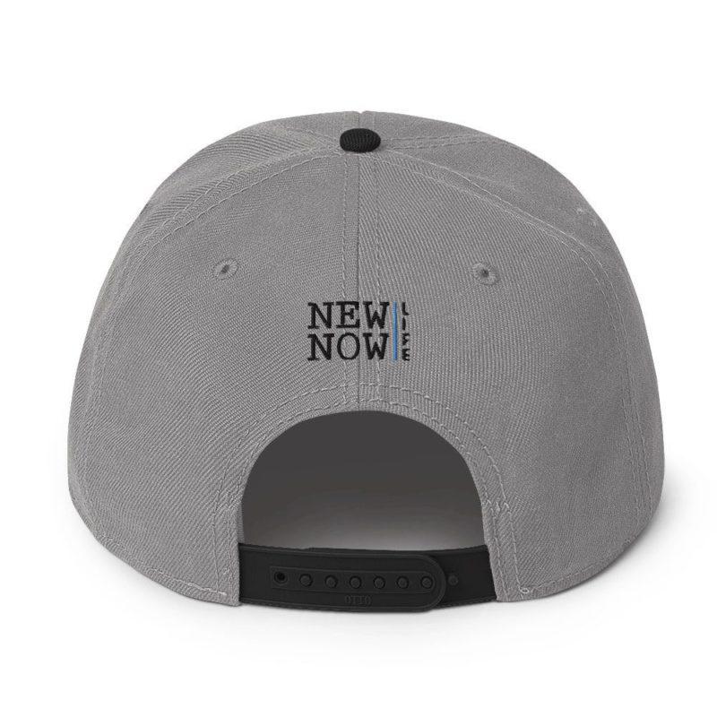 New Now Logo Circled Light Otto Snapback Hat