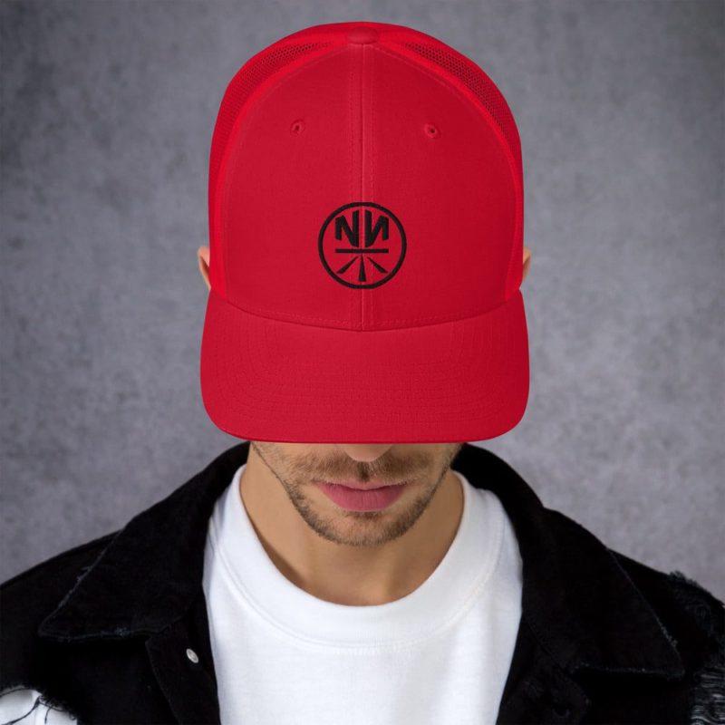 New Now Logo Circled Light Trucker Cap