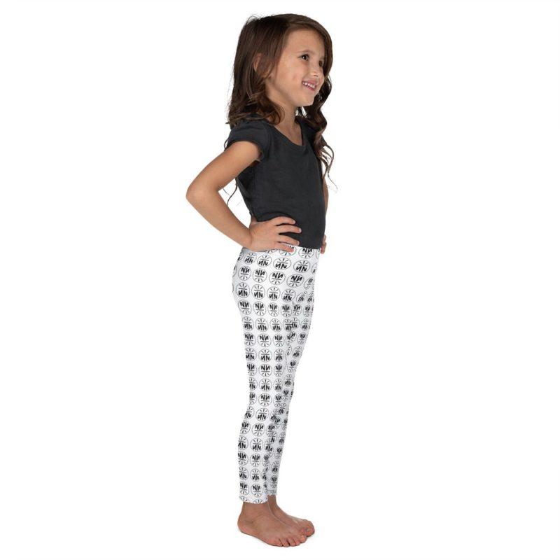 New Now Logo Circled Pattern Kid's Leggings