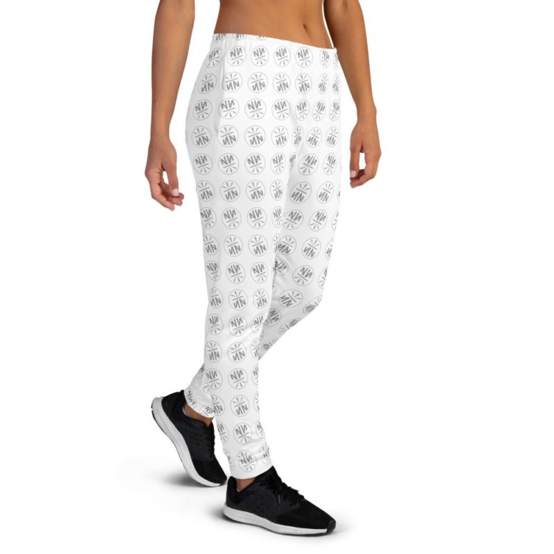 New Now Logo Circled Pattern Women's Joggers
