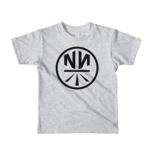 New Now Logo Circled Short Sleeve Kids T-Shirt