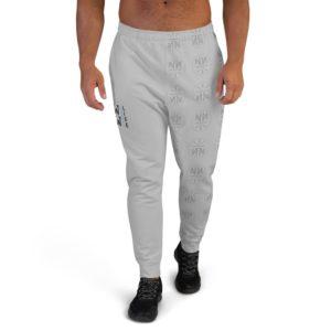 New Now Logo Circled Single Leg Pattern Men's Joggers