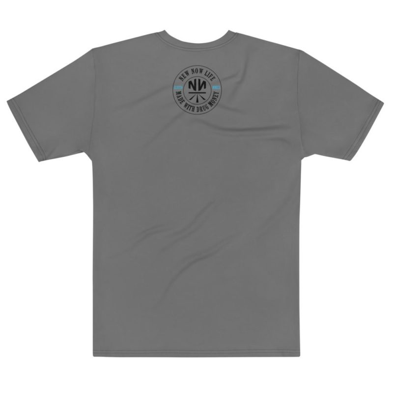 New Now Logo HUGE Circled All Over T-shirt