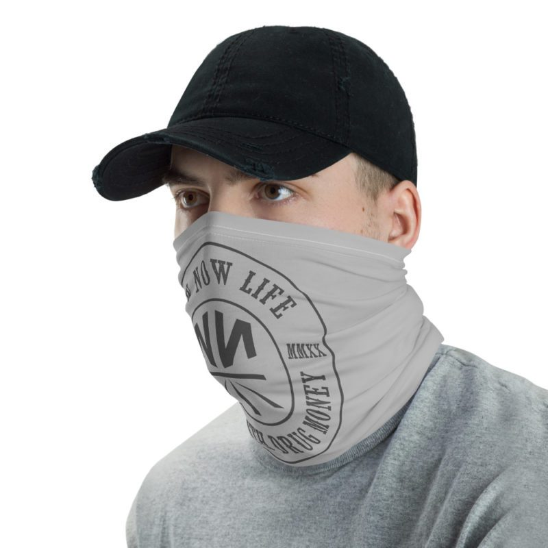 New Now Made With Drug Money Neck Gaiter (Mask)
