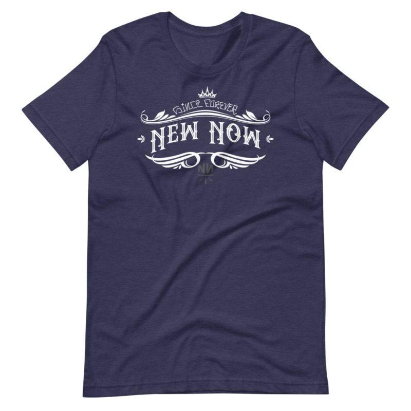 New Now Since Forever Dark Graf Short-Sleeve Unisex T-Shirt
