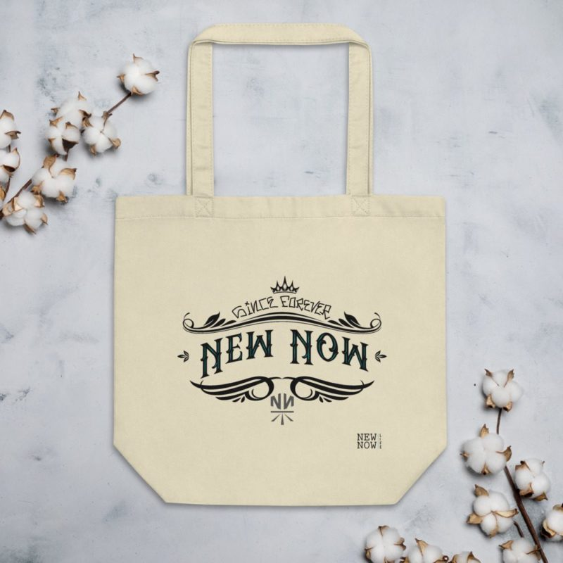 New Now Since Forever Graf Eco Tote Bag