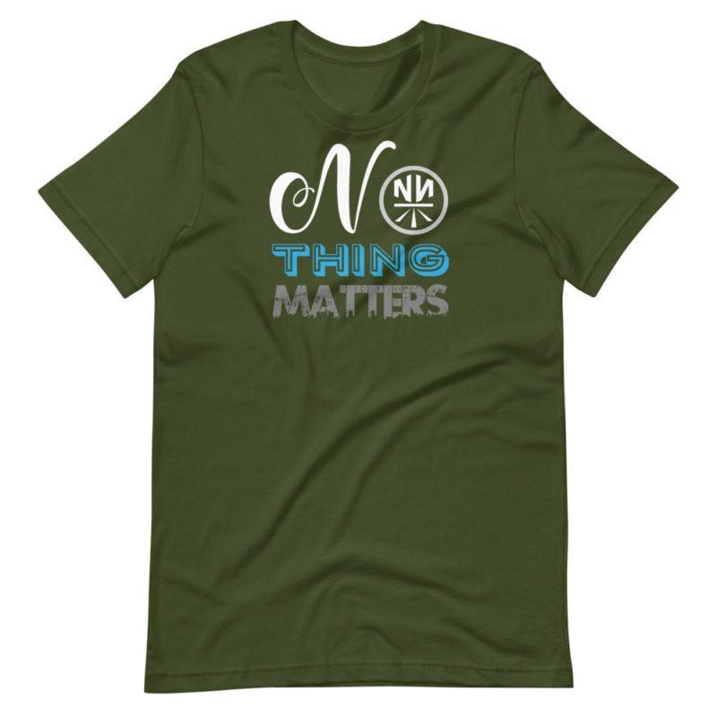No THING Matters Dark Short-Sleeve Unisex T-Shirt