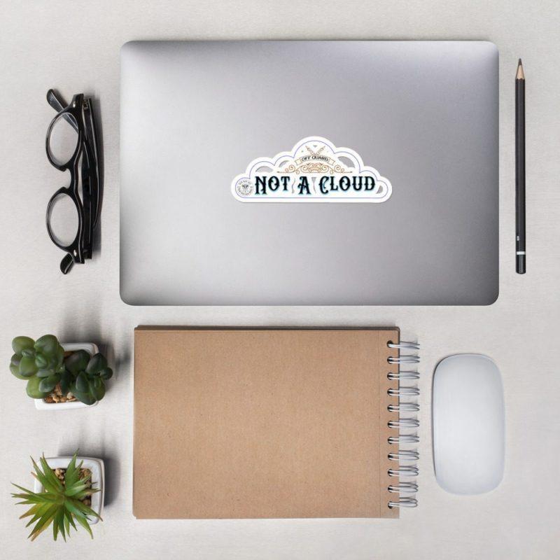 Not A Cloud Sticker Light (Western)