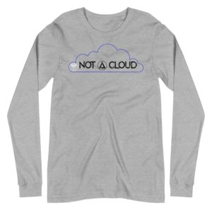 Not A Cloud Triangle Unisex Long Sleeve Tee