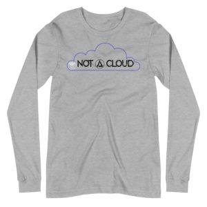 Not A Cloud Triangle Unisex Long Sleeve Tee