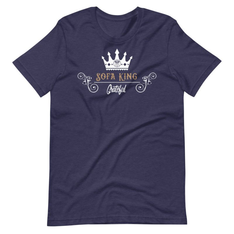 Sofa King Grateful Short-Sleeve Dark Unisex T-Shirt