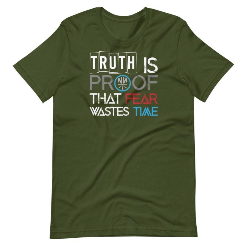 Truth is Proof Dark Short-Sleeve Unisex T-Shirt